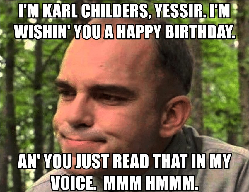 Funny Happy Birthday Meme
